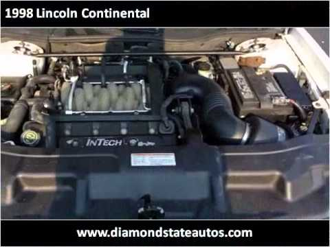 1998 Lincoln Continental Available From Diamond State