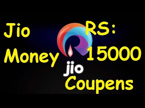 Jio Money | 15000 Coupens | Reliance Jio 4G