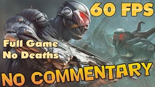 Crysis Warhead - Full Game Walkthrough 【NO Commentary】【60 FPS】