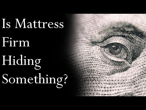 Is Mattress Firm Hiding Something? (Analysis) | Mr. Davis