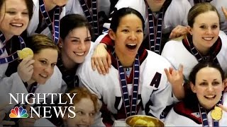 Why USA Women's Hockey Is Boycotting The Championship | NBC Nightly News