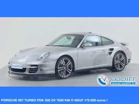 vodiff porsche occasion alsace porsche 997 turbo pdk 500 cv 7650 km neuf 170 000 euros. Black Bedroom Furniture Sets. Home Design Ideas