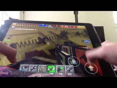 Weapon review/pixel gun 3D/laser bouncer