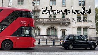 Welcome to London!  ロンドンより愛を込めて❤️