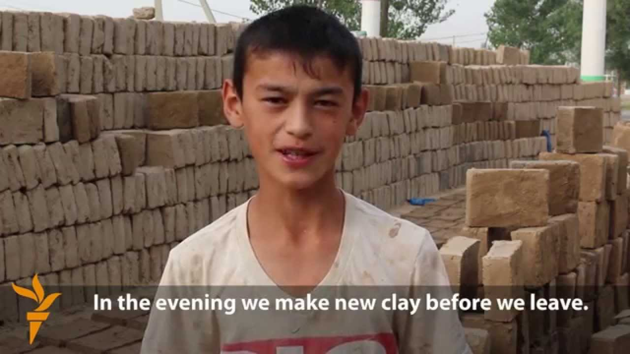 for many tajik children hard labor is a fact of life