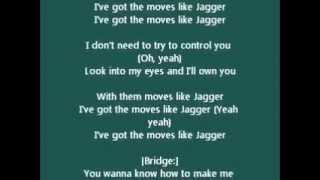 Chipmunks - Chipettes Moves Like Jagger Lyrics