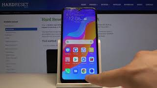 كيفية تنشيط ميزة تقسيم الشاشة في Huawei Honor 8A؟