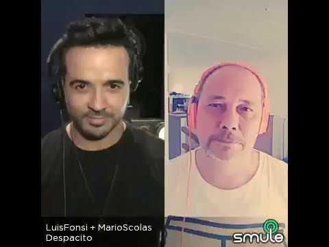 Despacito, Mario Scolas feat Luis Fonsi (cover)