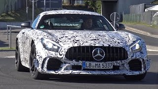 Hardcore version of the Mercedes-AMG GT R ?