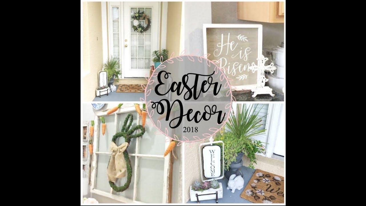 Easter Decor 2018 Collab Home Tour Youtube