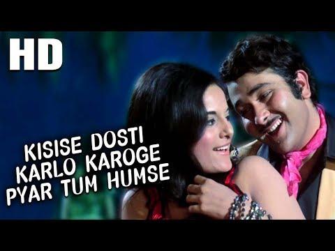 Kisise Dosti Karlo Karoge Pyar Tum Humse | Asha Bhosle, Kishore Kumar | Dil Diwana Songs | Randhir