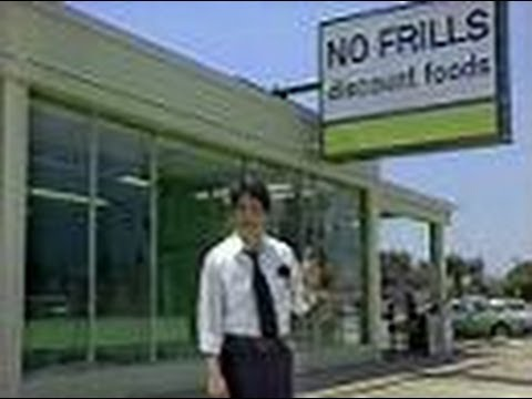 No Frills Discount Foods Commercial, 1980