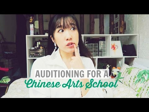 Auditioning For Arts School | Shanghai Theatre Academy