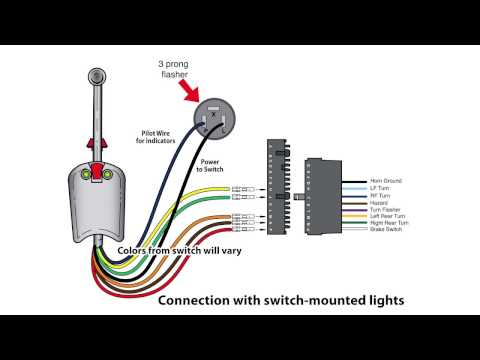 universal bolt on turn signal switch wiring - youtube  youtube
