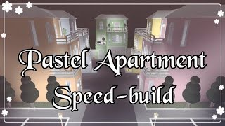 Bloxburg - Pastel Apartment Speed-build