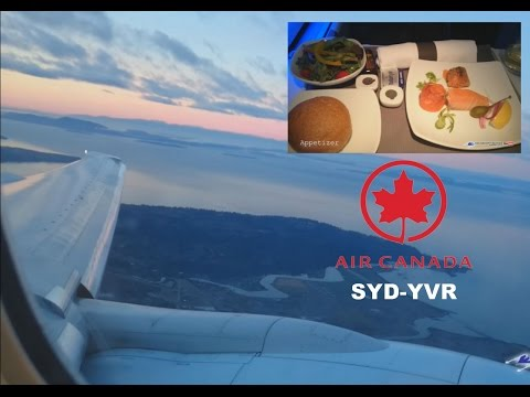 Air Canada (AC34) - Business Class - B777  | SYD - YVR | FLIGHT REPORT