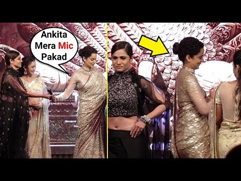Kangana Ranaut INSULTS Ankita Lokhande At Manikarnika Music Launch