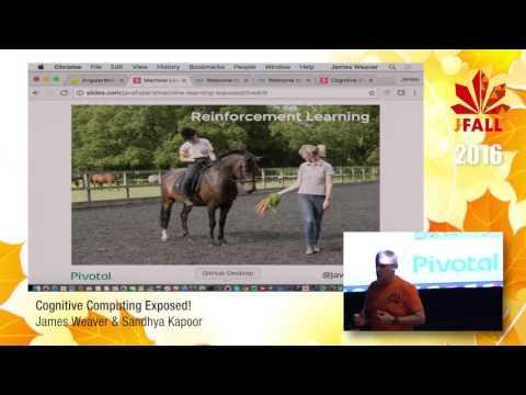 J-Fall 2016 Speaker James Weaver & Sandhya Kapoor - Cognitive Computing Exposed!