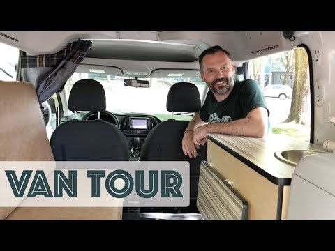 $6k RAM Promaster City Camper Van Conversion Tour by Zach from Cascade Campers [4K]