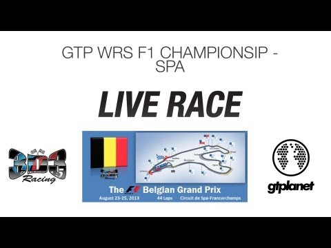 WRS F1 Championship - Belgium GP Live Race [Replay]