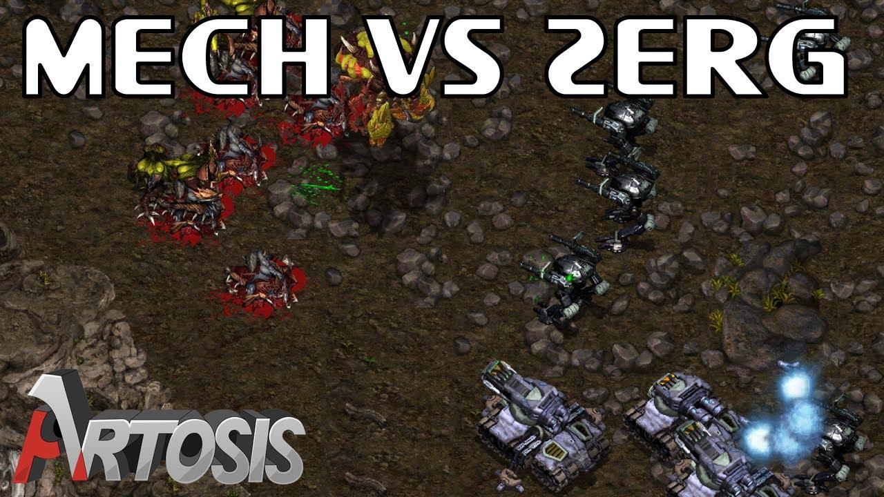 Download Tanks and Goliaths vs Zerg / StarCraft
