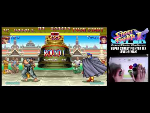 [4/4] SUPER STREET FIGHTER II X(Arcade,JP,LV8,HARDEST)
