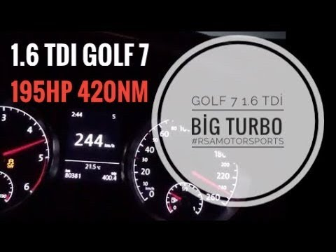 Golf 7 1 6 TDI Big Turbo 1 8 Bar Trailer Rsa Motorsports