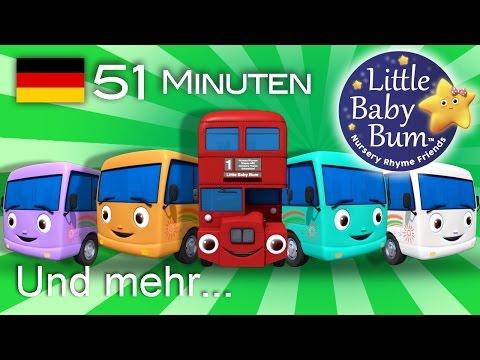 Zehn kleine Busse | Und noch viele weitere Kinderlieder | von LittleBabyBum