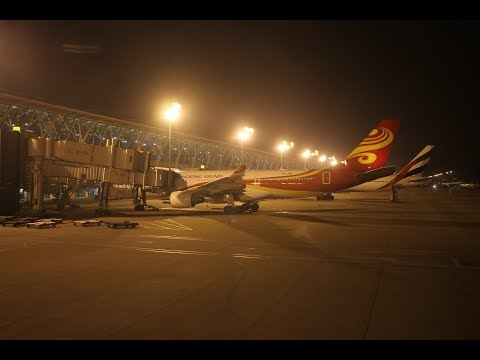 Arriving at Shanghai Pudong Airport + Maglev Train