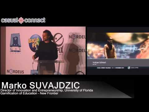 Gamification of Education - New Frontier | Marko SUVAJDZIC