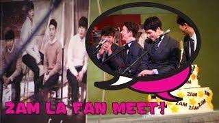 2AM 투에이엠 LA Fan Meet