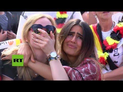 Entre Lágrimas: Así Vivió La Hinchada Alemana La Eliminación De Su Selección Del Mundial De Rusia