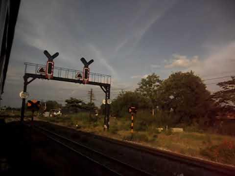 รถไฟขบวนที่145 จากสถานีพระแก้วถึงสถานีชุมทางบ้านภาชี SAM 6300