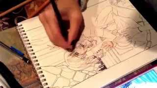 Drawing Yuki and Kaname Kuran (VAMPIRE KNIGHT)