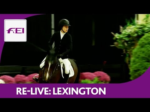 Re-Live | Lexington | Longines FEI World Cup™ Jumping 2016/17 NAL | Shelby Drazan Welcome Speed