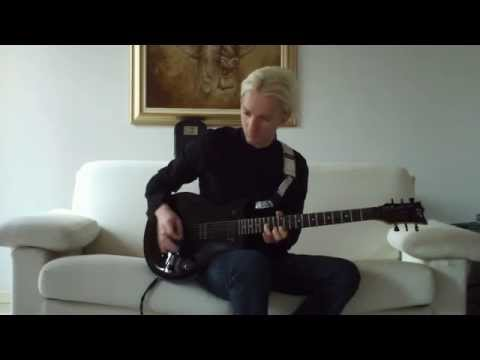 ESP Guitars: John Rox plays Human Radioactivity  ROX band