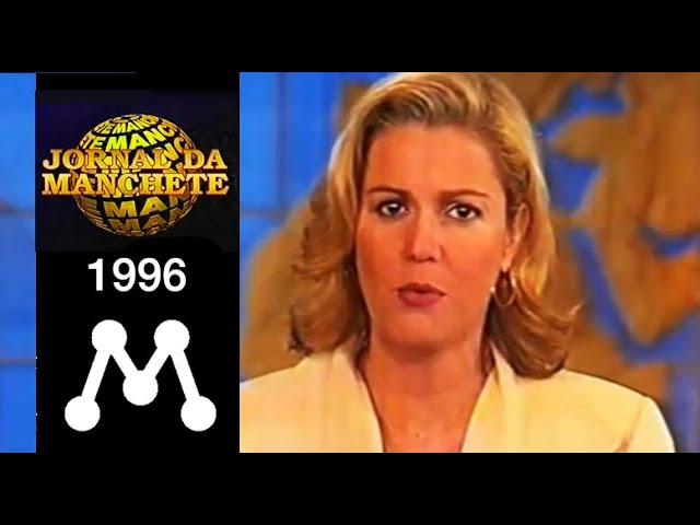 Jornal da Manchete - 1996 - Marcia Peltier