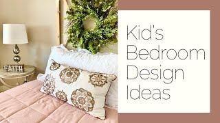 Kid's Bedroom Design Ideas