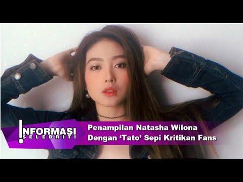 Penampilan Natasha Wilona Dengan 'Tato' Dan Rambut Sebahu Sepi Kritikan Fans