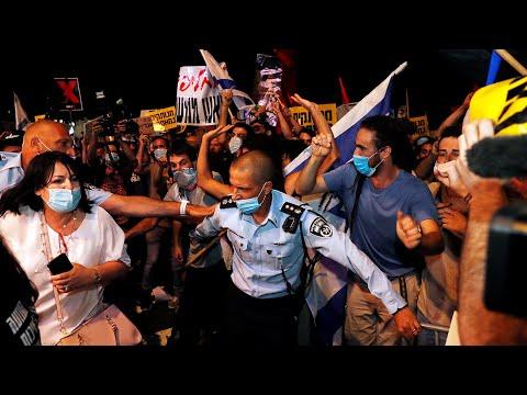 Массовые протесты и погромы, вторая волна коронавируса. Израиль восстал против Нетаньяху