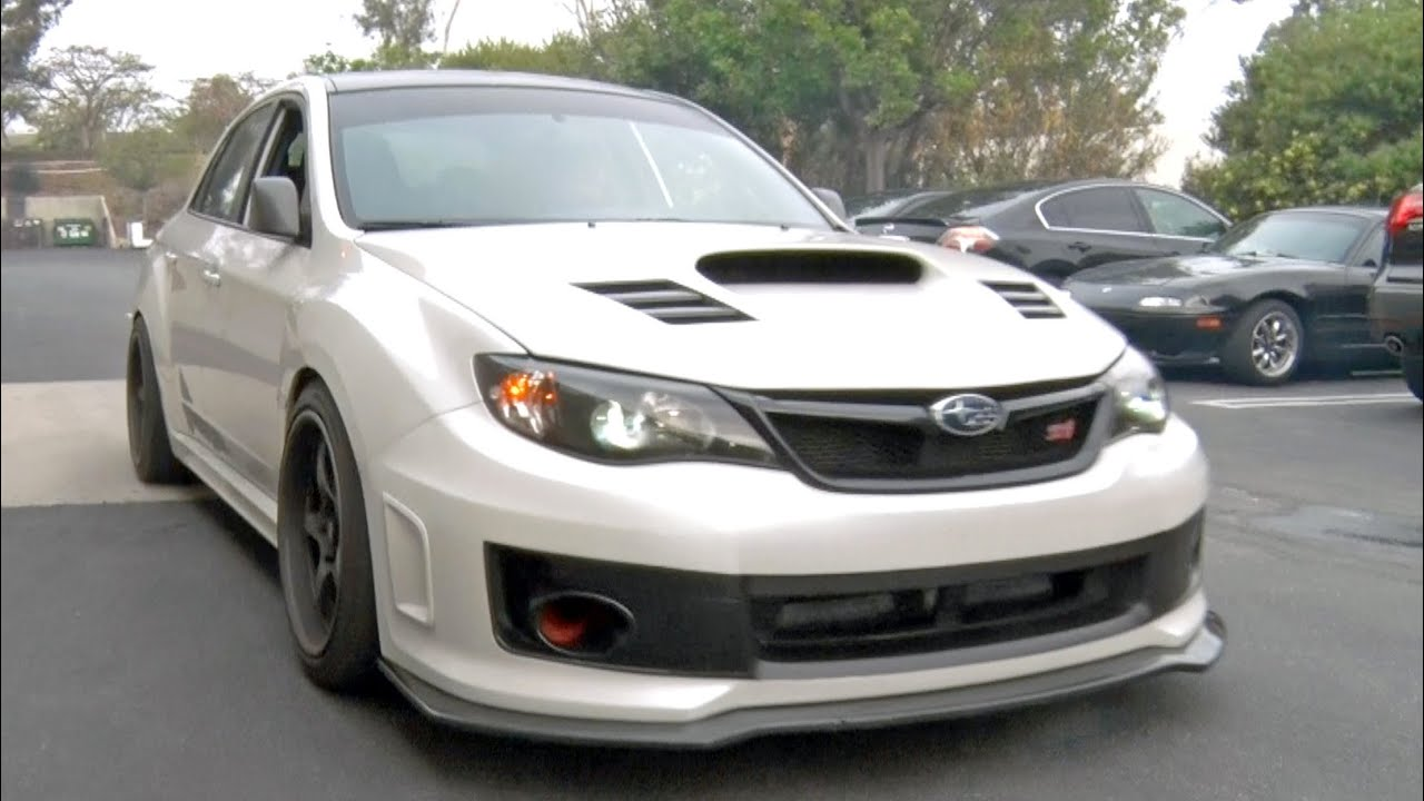 Cruising In Bucky Lasek S 2012 Sti Youtube