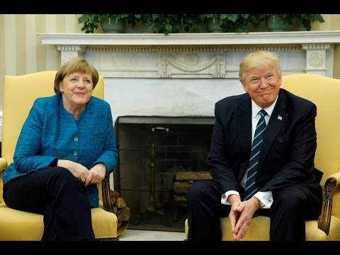 WATCH LIVE: President Trump and German Chancellor Merkel joint news conference