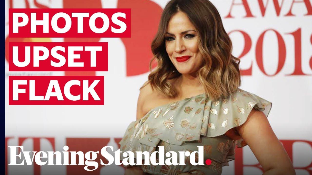 Caroline Flack 'devastated' Lewis Burton had shared bloody image from her assault arrest, inquest he