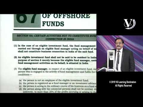 Fund Manager of Offshore Funds | CA Final | Nov'2019 |  Vino
