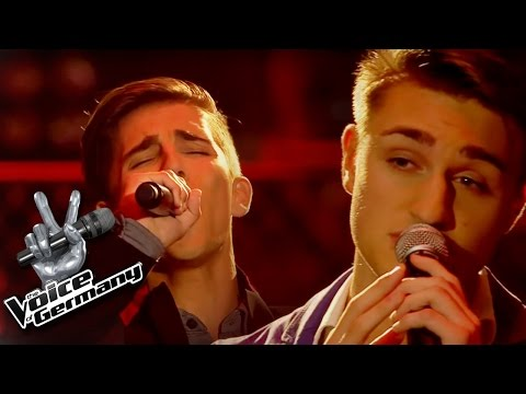 My Way - Frank Sinatra | Marc Huschke vs. Alexander Wolff Cover | The Voice of Germany 2015 | Battle