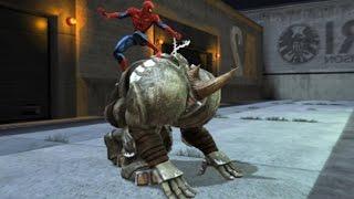 Spider-Man Web Of Shadows #09 MONTAMOS NO RHINO E INVADIMOS A PRISÃO! Gameplay em PT-BR