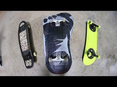THE 3 WEIRDEST SKATEBOARDS IN THE WORLD