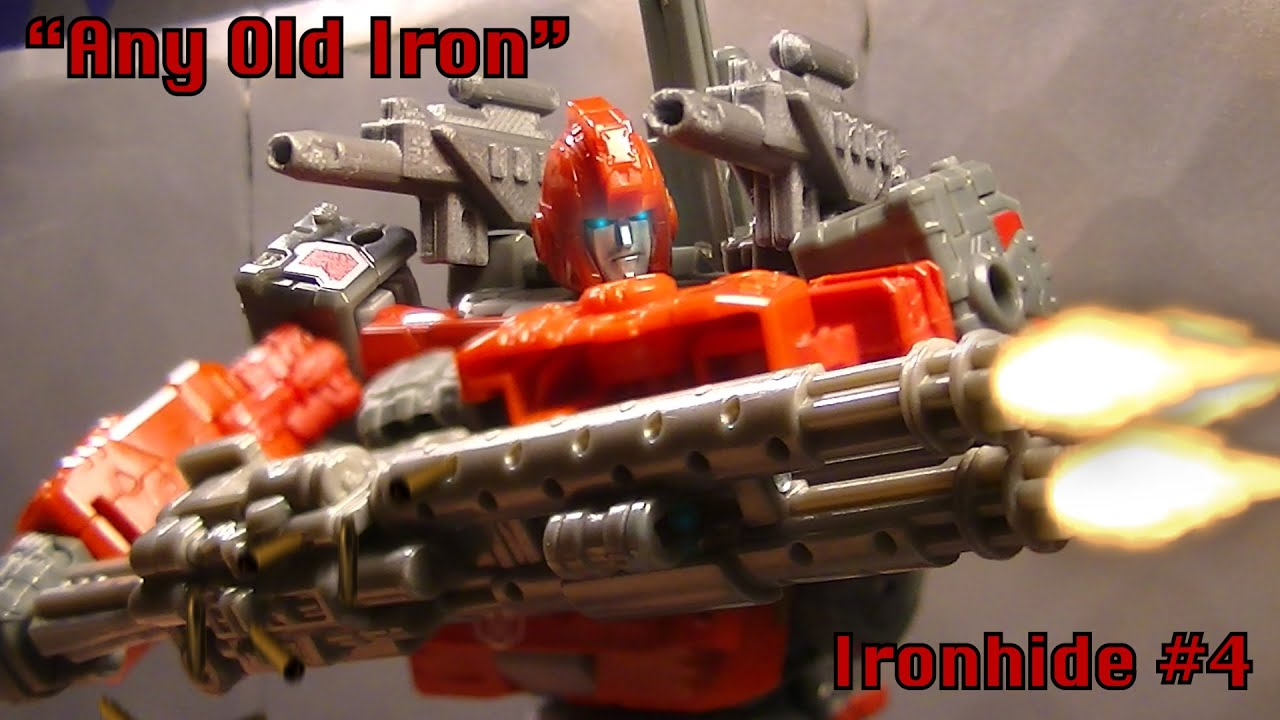 """Ironhide: A Transformers Story   Chapter 4- """"Any Old Iron"""""""
