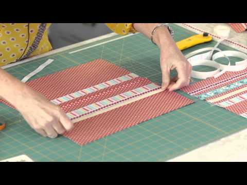 How to Make a Quick Ribbon Pillow | ADORNit