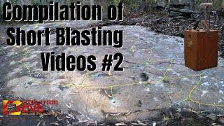 Compilation of short Rock Blasting videos #2